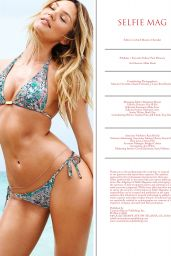 Candice Swanepoel Bikini Pics - Selfie Magazine May 2015 Issue