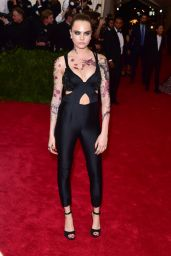 Cara Delevingne – 2015 Costume Institute Benefit Gala in New York City