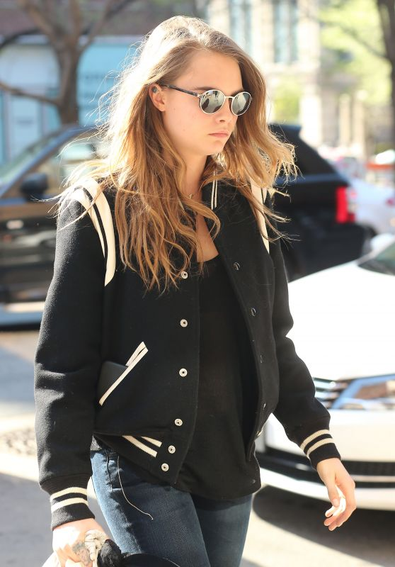 Cara Delevingne - Out in New York City, May 2015