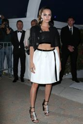 Cara Delevingne - Vanity Fair and Chanel Dinner in Golfe-Juan in France, May 2015