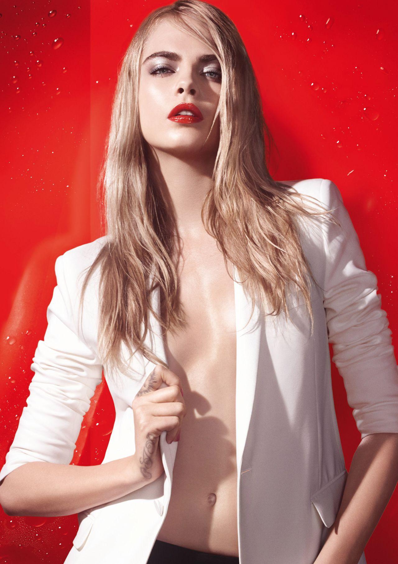 Cara Delevingne Ysl Beaute Summer Splash Campaign