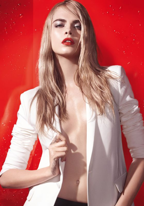 Cara Delevingne – YSL Beaute Summer Splash Campaign