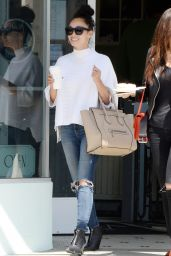 Cara Santana - Out for Lunch in Los Angeles, May 2015