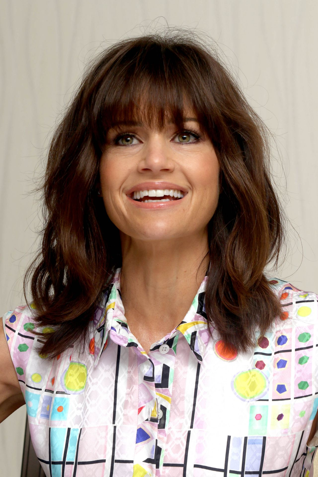 Carla Gugino San Andreas Movie Press Conference