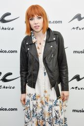 Carly Rae Jepsen - Music Choice in New York City, May 2015