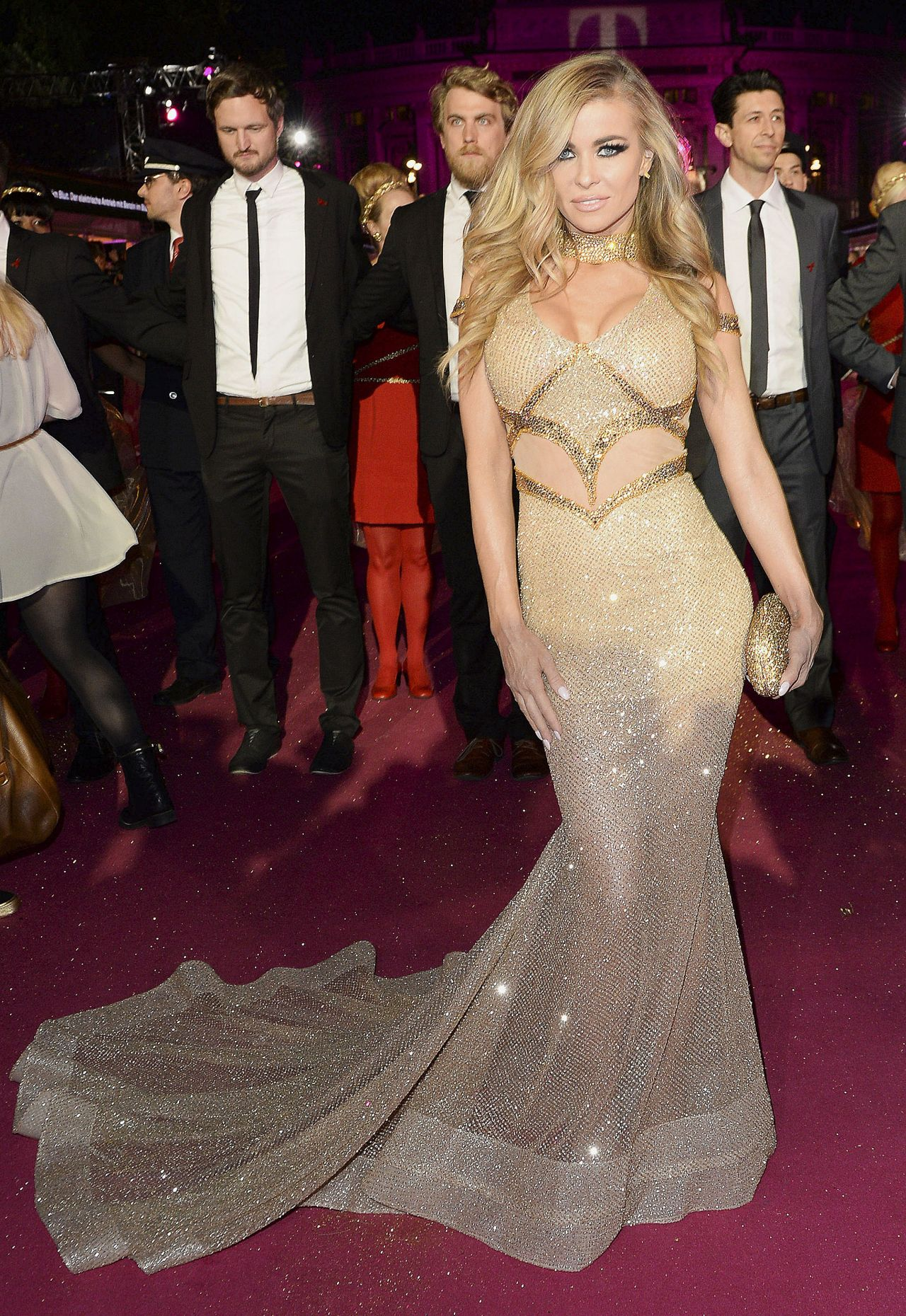 Carmen Electra Life Ball 2015 Weekend At City Hall In Vienna