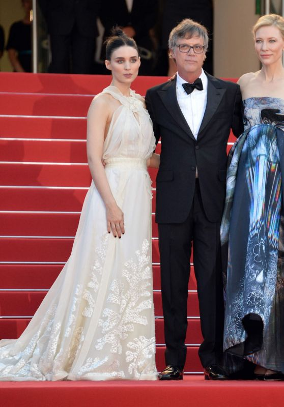 Cate Blanchett and Rooney Mara - Carol Premiere - 68th Cannes Film Festival
