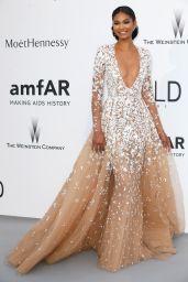 Chanel Iman – 2015 amfAR Cinema Against AIDS Gala in Antibes (France)