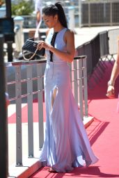 Chanel Iman Style - Out in Cannes, May 2015