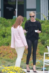 Charlize Theron Candids - Eden Roc Hotel in Cannes, May 2015