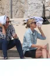 Charlize Theron - Eden Roc Hotel in Cannes, May 2015