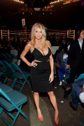 Charlotte Mckinney at the Mayweather VS Pacquiao in Vegas