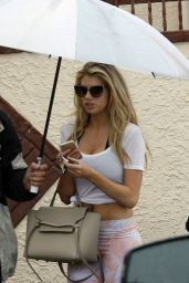Charlotte McKinney - Dancing With the Stars Rehearsal in LA, May 2015