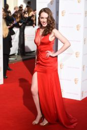 Charlotte Spencer - 2015 BAFTA Awards in London