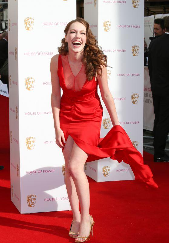 Charlotte Spencer - 2015 BAFTA Awards in London
