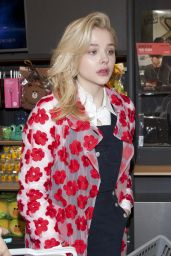 Chloe Grace Moretz - Photocall at the Line Flagship Store in Seoul, May 2015