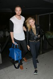Chloe Moretz at Katsuya Restaurant in Brentwood, May 2015
