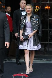 Chloe Moretz – Leaving a Hotel in NYC, May 2015