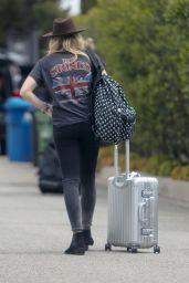 Chloe Moretz Street Style - Heading to the LAX Airport, May 2015