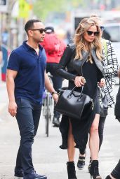 Chrissy Teigen - Out in New York City, May 2015