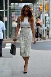 Chrissy Teigen Style - Out in Soho, in New York, May 2015