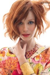 Christina Hendricks - Red Magazine (UK) June 2015 Issue