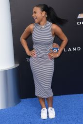 Christina Milian - Tomorrowland Premiere in Anaheim
