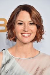 Chyler Leigh - 2015 CBS Upfront in New York City