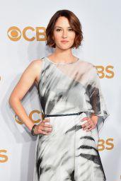 Chyler Leigh - 2015 CBS Upfront in New York City