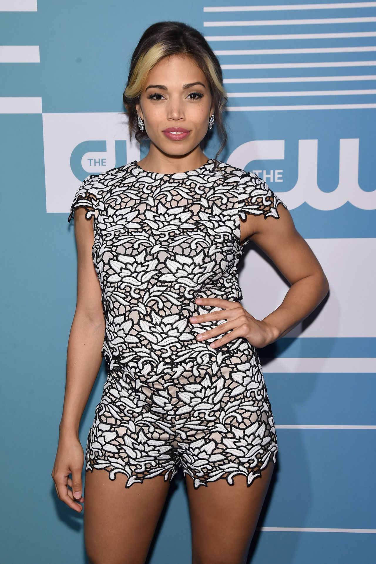 Ciara Renee CW Networks New York 2015 Upfront Presentation In New York City