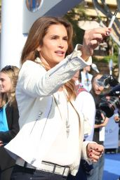 Cindy Crawford - Tomorrowland Premiere in Anaheim
