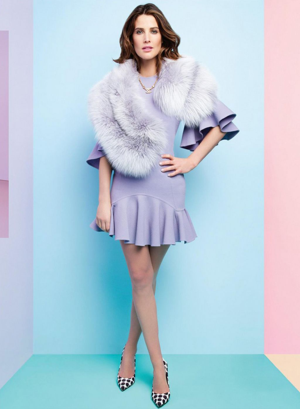Cobie Smulders Glamour Magazine Mexico May 2015 Photos