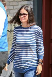 Courteney Cox - Joel Silver