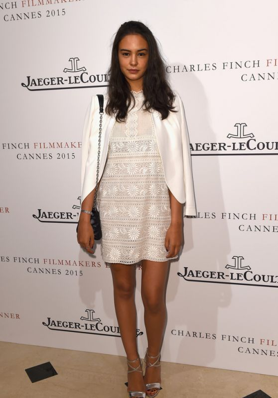 Courtney Eaton - The Art Of Behind The Scenes Jaeger-LeCoultre And Finch & Partners Party in France