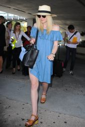 Dakota Fanning at Nice Côte d