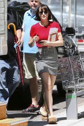 Dakota Johnson - How To Be Single in New York City Set Photos, May 2015
