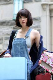 Dakota Johnson - How To Be Single SEt Photos, May 2015