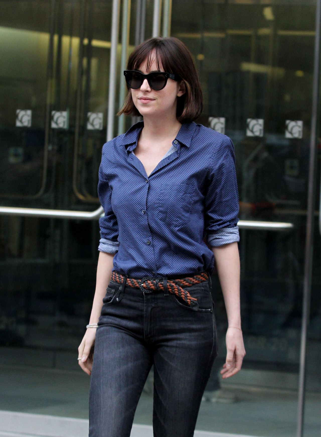 Dakota Johnson On The Set Of How To Be Single May 2015