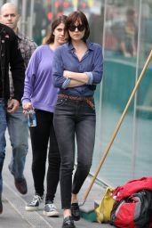 Dakota Johnson - On The Set of