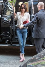 Dakota Johnson - Out in New York, May 2015
