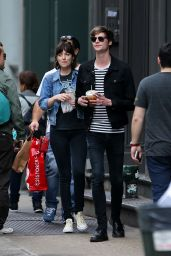 Dakota Johnson - Out in Soho, May 2015