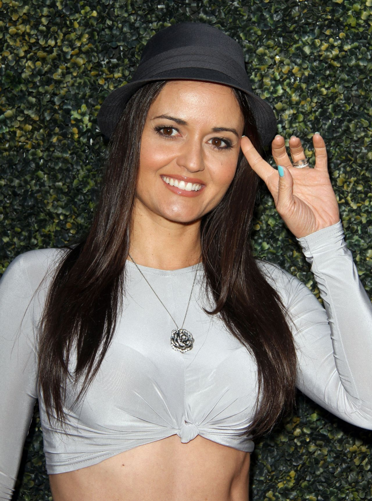 Danica Mckellar Where Hope Grows Premiere In Hollywood