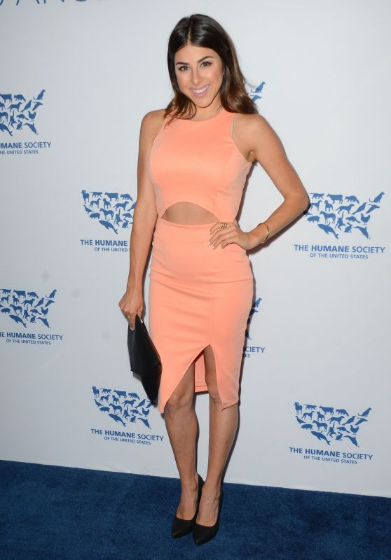 Daniella Monet - The Humane Society Los Angeles Benefit Gala, May 2015