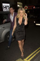 Danielle Armstrong - Celebrating Her 27th Birthday at London