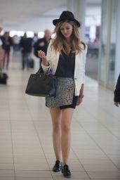 Delta Goodrem - Arriving in Adelaide, Australia, May 2015