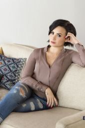 Demi Lovato - Be Vocal Speak Up Photoshoot 2015