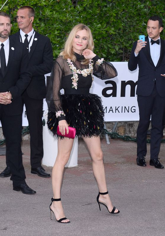 Diane Kruger Arrives for amfAR 22nd Cinema Against AIDS Gala Cup d