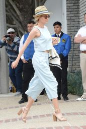 Diane Kruger - Arrives to Joel Silvers Memorial Day Party in Los Angeles, May 2015