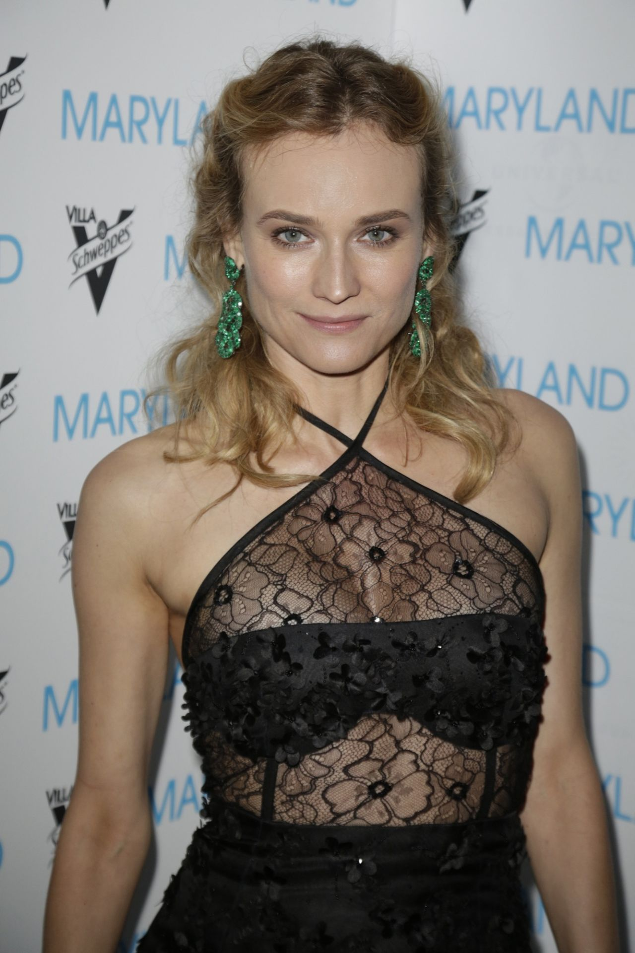Diane Kruger Maryland Party At Villa Schweppes 68th