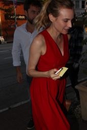 Diane Kruger Style - at Mateo Restaurant in Beverly Hills, May 2015